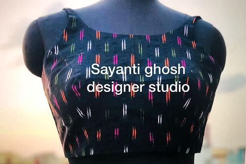 Ikkat bracut blouse