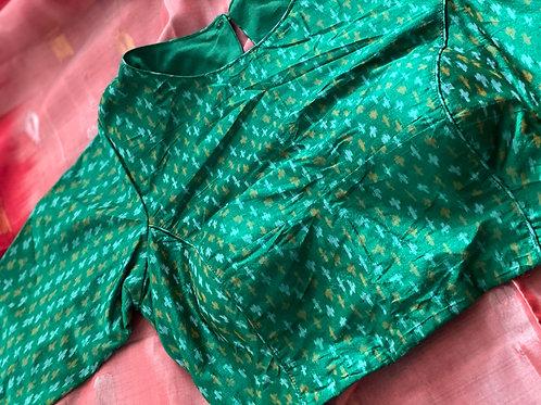 Green Ikkat