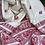 Thumbnail: White red Baluchori silk