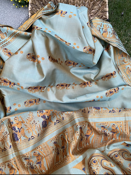 Dual shaded swarnachori