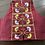 Thumbnail: Maroon Kotpad with a T-Back cut and colorful glasswork embroidery is a blouse th