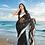 Thumbnail: Chiffon Banarasi - Black & Silver