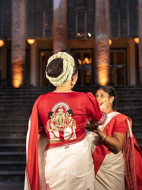 Durga Puja Dashami Blouse