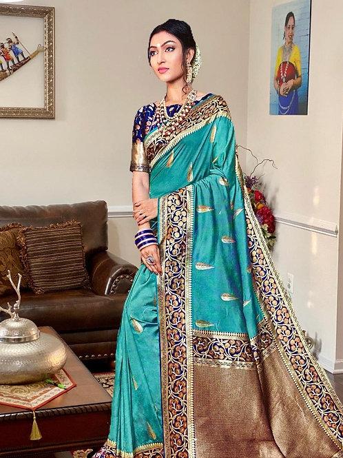 Designer Pure Silk Benarasi