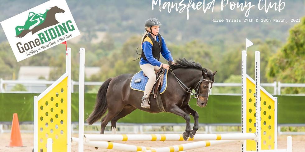 Mansfield Pony Club Horse Trials