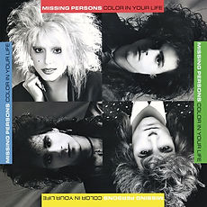 RUBY18CD Missing Persons - Color In Your