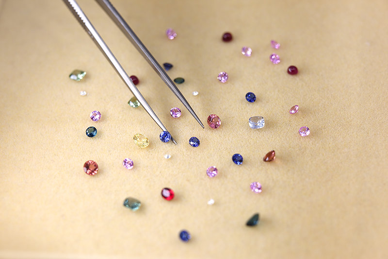 Natural precious gemstones on our beautiful earth