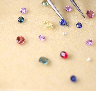 Earth's Treasures: Natural precious gemstones on our beautiful earth