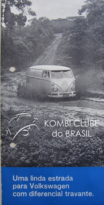 Folder Kombi Diferencial Travante 1968.p