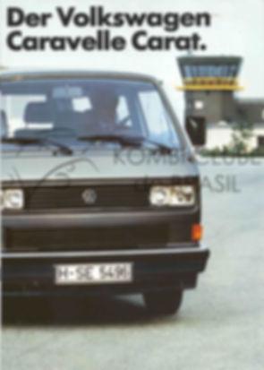 Folder Caravelle Carat Alema 1987 040320