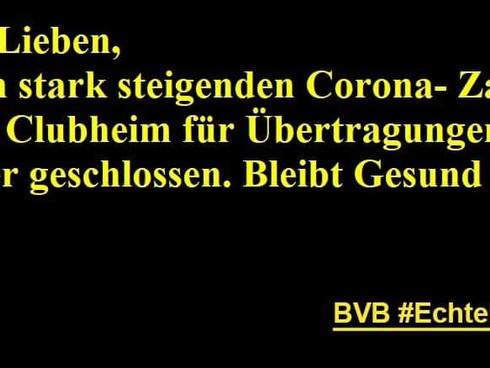 CLubheim bleibt, wegen Corona, weiterhin geschlossen :(