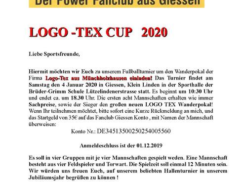 LOGO-TEX CUP 2020 JETZT ANMELDEN!