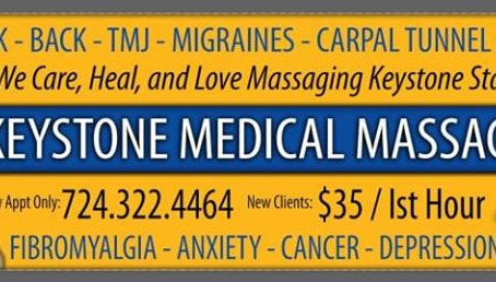 New Beginnings with Keystone Medical Massage