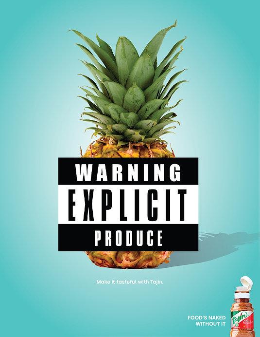 Tajin Print Pineapple