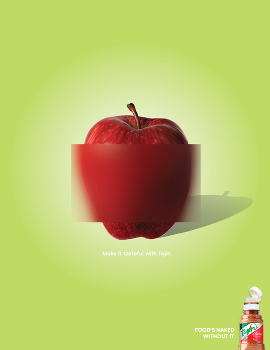 Tajin Print Apple