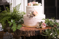 A beautiful cake with none of the planning stress!