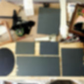cut mirror squares with tools