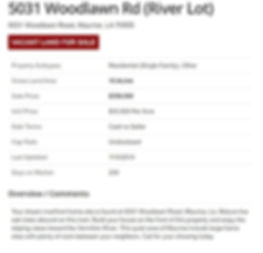 5031 Woodlawn River Front Properties Rob
