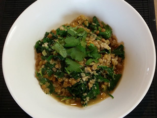 Prebiotic Lentil Stew