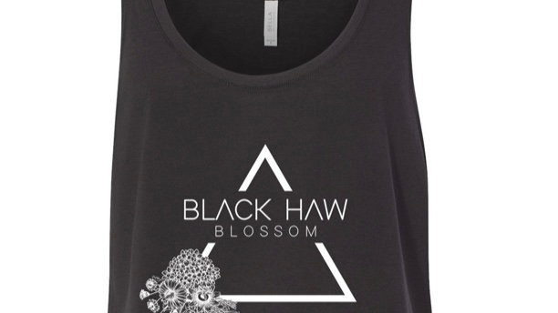 PRE ORDER BLACK HAW BLOSSOM TANK