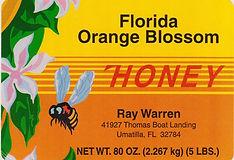 HONEY Prices | Ray Warren Honey