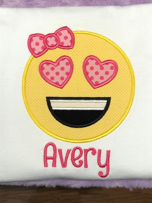 Averys Emoji Birthday Shirt