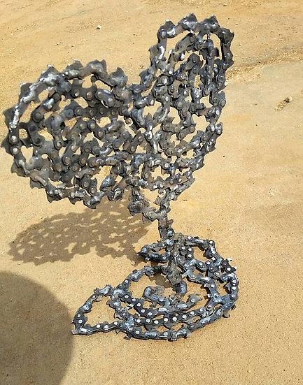 Chainsaw Chain Heart