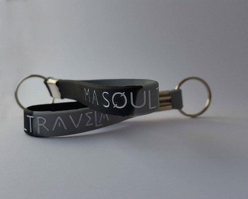 I'm A Soul Travela Silicone Keychain