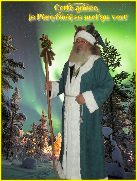 Pére Noël Vert