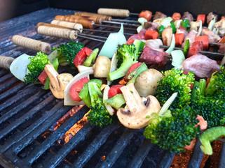Anticuchos de verduras