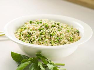 Quinoa con arvejas