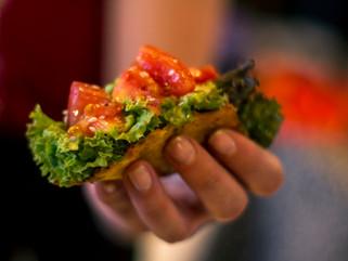 Tacos de zanahoria sin gluten