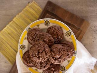 Muffins de Lentejas con chips de chocolate