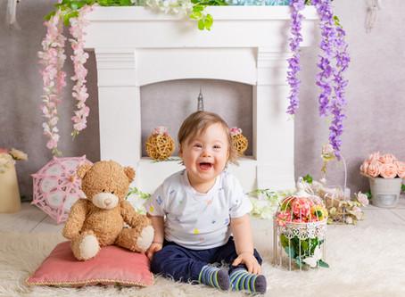 "Mini sedinta foto ""Mommy and Me"" oferita cadou unei mamici cu un copilas cu sindrom Down"