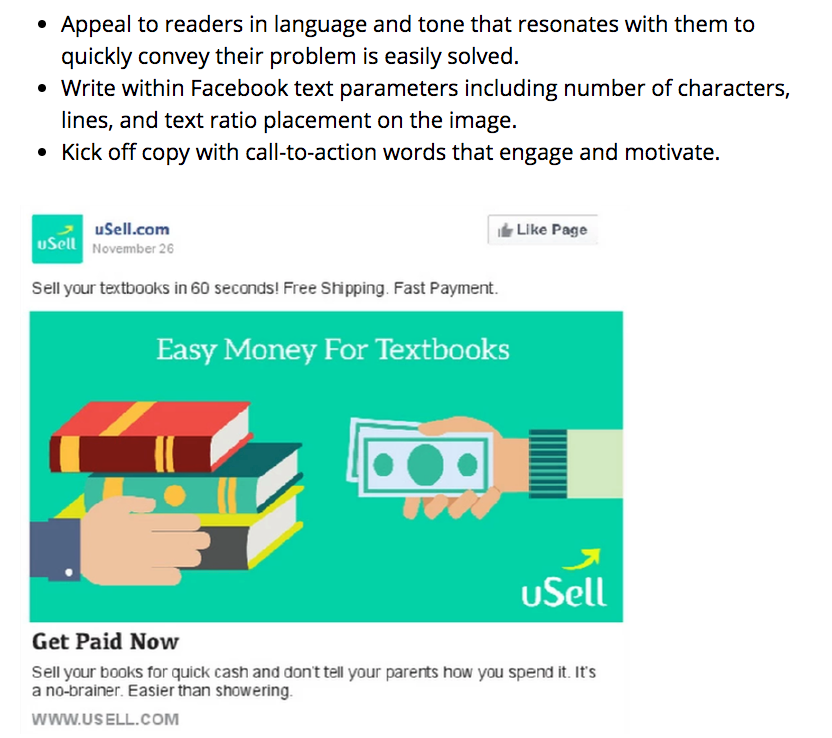 uSell - Facebook Ad