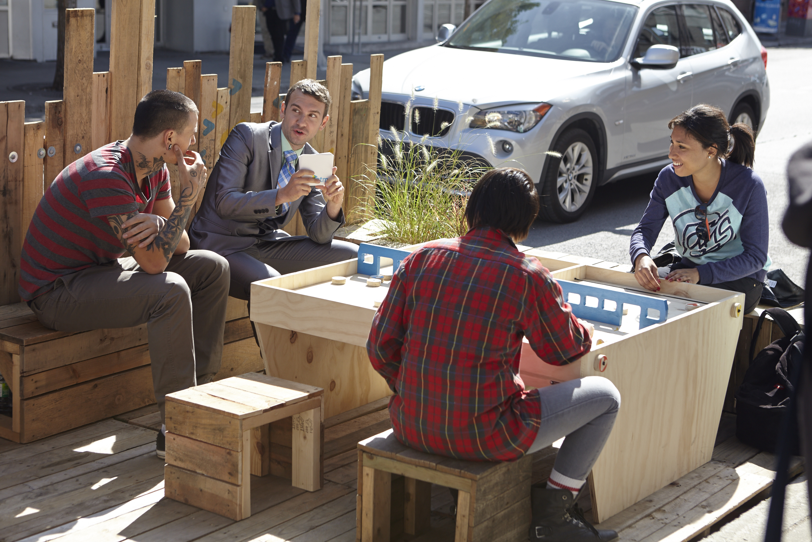 Espace Palettes - Park(ing) Day 2014