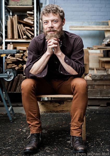 Vincent Vandenbrouck,   Directeur de Création, Mouvement C,   Photo par Michael Abril