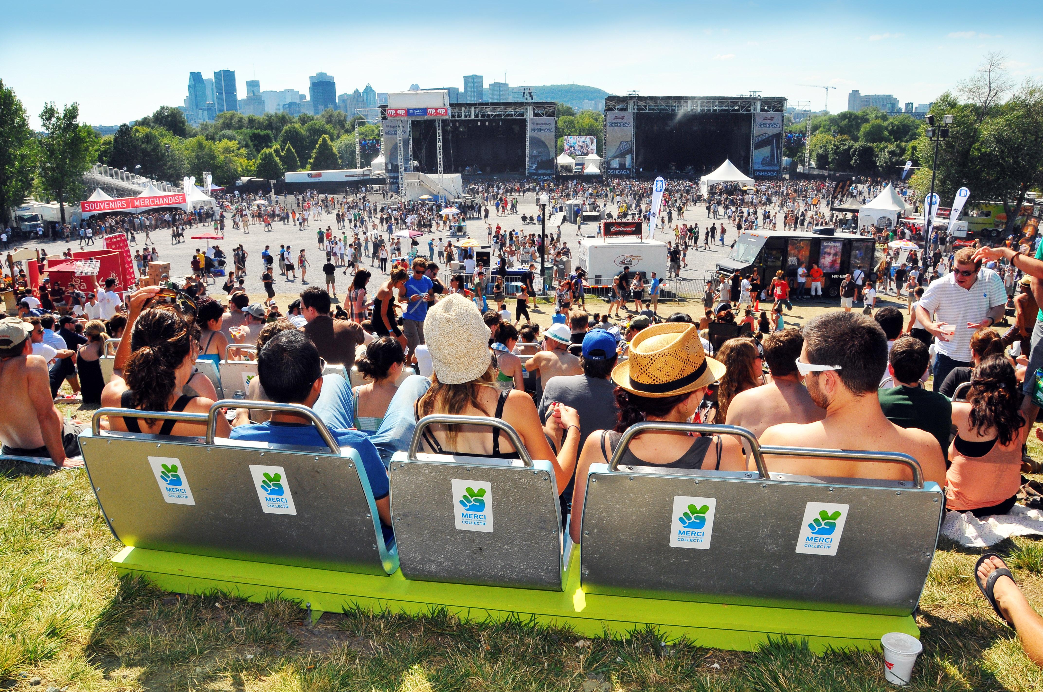 Mobilier STM - Bancs de concerts