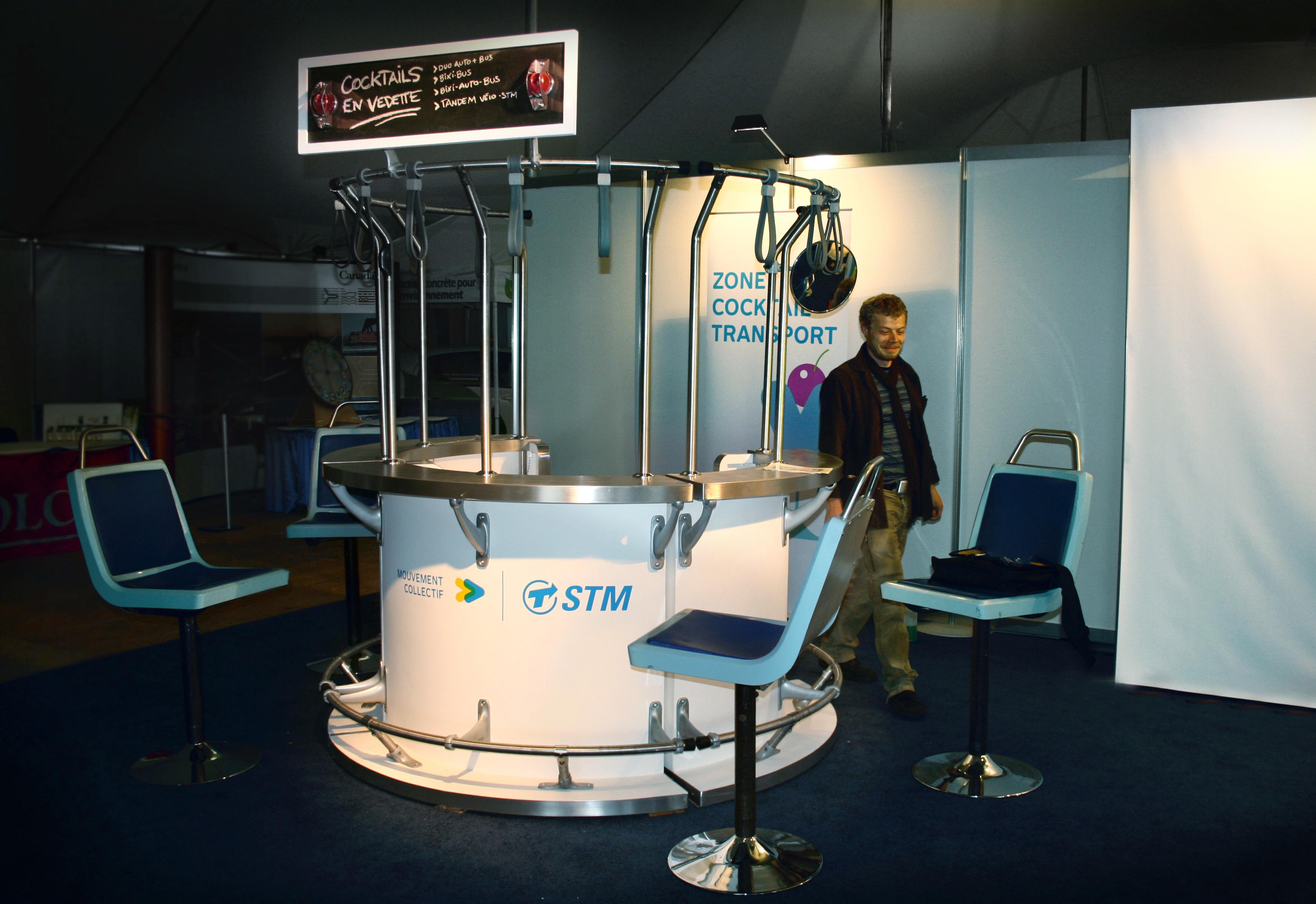 Mobilier STM - Kiosque