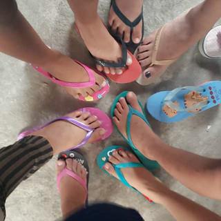 Providing Shoes