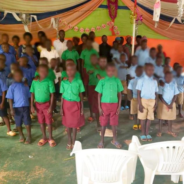 Donated School Uniforms