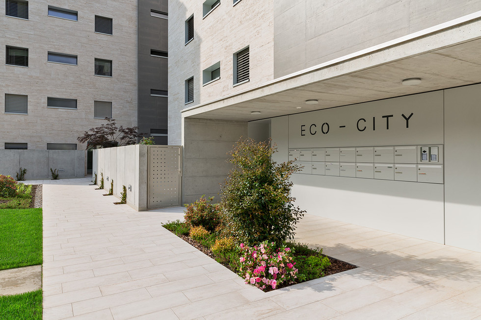 Eco-City, entrata