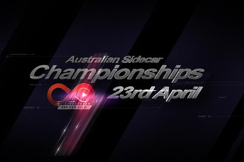 Australian Sidecar National Titles 23rd April - Qualifier