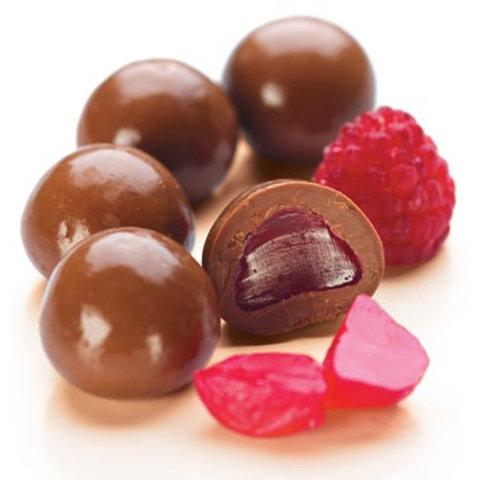 Premium Choc Raspberries  140g
