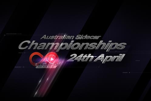 Australian Sidecar National Titles 24th April - Championship