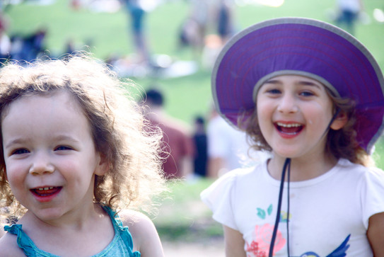 Children at Prospect Park, Brooklyn