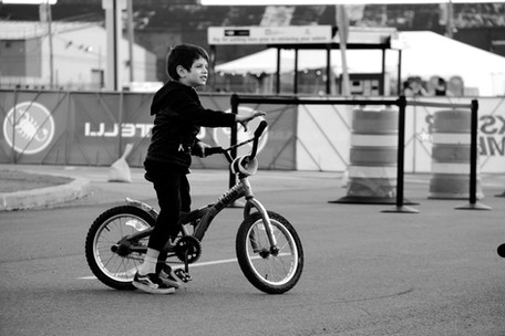 Child at Red Hook Crit, Brooklyn
