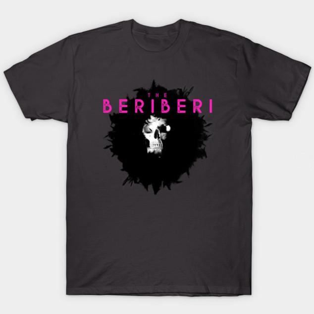The BERiBERi skull tee