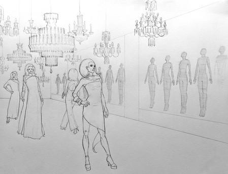 Rootstein Mannequins showroom concept