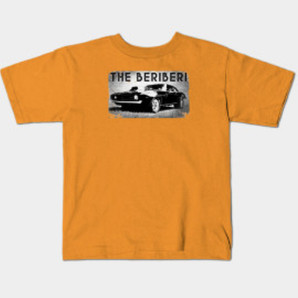 The BERiBERi Hot Rod kids tee